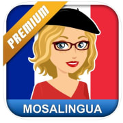 The Apple App Store offers downloads of Learn French with MosaLingua for iPhone and iPad for free. (Google Play charges the same for Android.) That's a $5 price drop for this language app.