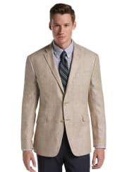 Jos. A. Bank 1905 Traveler Collection Herringbone Linen Sport Coat for $24 + free shipping