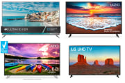 Clearance HDTVs at Walmart from $90 + free shipping