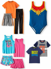 Kids' Clothing Clearance at Walmart: Up to 75% off + free shipping w/ $35
