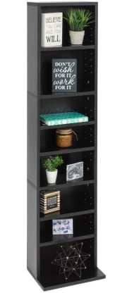 Best Choice 8-Tier Media Storage Tower for $29 + free shipping