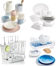 Dinnerware and Glassware at Macy's: 60% off + free shipping w/ $49