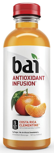 Amazon offers the Bai Antioxidant Infused Beverage 18-oz. Bottle 12-Pack in Costa Rica Clementine for $12.58 with free shipping via the steps below