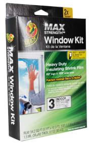 Duck MAX Heavy Duty Indoor Window Insulation Kit for $4 + pickup at Walmart