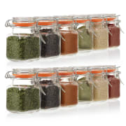 3.4-oz. Mini Square Glass Spice Jar 24-Pack for $23 + free shipping