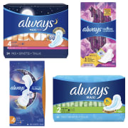 Amazon takes $3 off a selection of Always Feminine Pad Multi-packs via an on-page clip coupon. Plus, save an extra 5% by checking out via subscribe and save