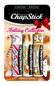 Amazon offers the ChapStick Holiday Collection Lip Balm 3-Pack for $1.50 with free shipping via Prime. That's $3 under what you'd pay for any of these flavors in-store