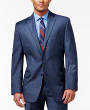 Calvin Klein Men's Modern Fit Suit Jacket for $50 + pickup at Macy's