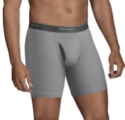 Fruit of the Loom Men's CoolZone Fly Dual Defense Boxer Briefs 10-Pack for $15 + pickup at Walmart