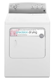 Kenmore 7-Cu. Ft. Electric Dryer w/ SmartDry for $280 + pickup at Sears