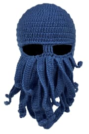 Adults' Octopus Beard Mask Hat for $7 + free shipping