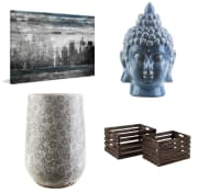 """Home Depot takes up to 35% off select wall decor and home accents. Plus, take an extra 15% off peel-and-stick wall tiles via coupon code """"PSBACKSPLASH15"""""""