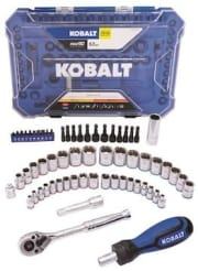 Kobalt 63-Piece Standard and Metric Mechanic's Tool Set for $20 + pickup