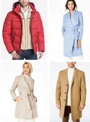 Coat Flash Sale at Macy's: 50% off + free shipping w/ $75