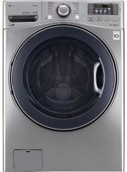 Lowe's offers the LG 4.5-Cubic Foot High-Efficiency Stackable Front-Load Washer in Graphite Steel for an in-cart price of $699 with free shipping. That's the lowest price we could find by $335