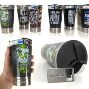 Roughneck Double Walled Stainless Steel 16oz Beer Cup for $5 + free shipping