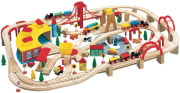 Maxim 145-Piece Wooden Train Set for $50 + free shipping