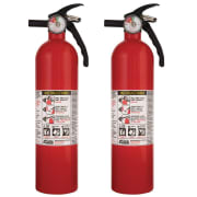 Kidde 1A10BC 2.5-lb. Basic Use Fire Extinguisher: 2 for $22 + pickup at Walmart