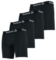 Reebok Men's Performance Boxer Briefs 4-Pack for $14 + free shipping