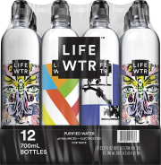 PepsiCo via Amazon takes 25% off its LIFEWTR Premium Purified Water 700mL 12-Pack via the clippable coupon on the product page. Plus, Prime members get free shipping