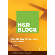 H&R Block Tax Software w/ Walmart GC Refund Bonus from $12 + download
