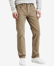 Levi's Men's 502 Taper Corduroy Pants for $15 + pickup at Macy's