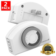 Fosmon Technology 24-Hour Timer 2-Pack for $10 + free shipping