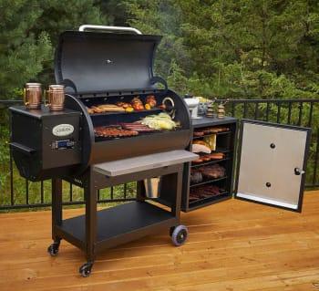 Costco offers its members the Louisiana Grills Champion Backyard Pro