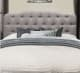 "Ending today, JCPenney offers the Bedroom Possibilities Charlotte Full/Queen Headboard in four colors (Stone pictured) for $116.48. Coupon code ""4SHOPNOW"" cuts that to $99"