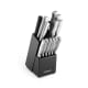 Farberware 15-Piece Stainless Steel Knife Block Set for $20 + pickup at Walmart