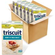 Nabisco Triscuit 8.5-oz. Whole Grain Wheat Crackers 6-Pack. That's $5 less than you'd pay picking up this quantity at your local Target.