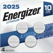 Energizer Lithium Coin Cell Battery 4-Pack. You'd pay over $10 elsewhere.