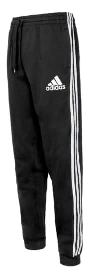 """adidas Men's Essential Fleece Joggers. Get this price via coupon code """"DN1899A"""". That's the best price we could find by $15."""