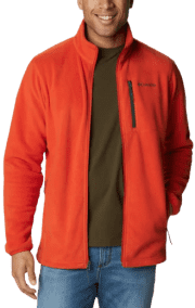 "Columbia Men's Cascades Explorer Full Zip Fleece Jacket. Apply coupon code ""APR60PLUS"" for a savings of $30 off list price."