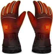 """Luwatt Rechargeable Heated Gloves. Save 50% by applying coupon code """"L5MFY4PN""""."""