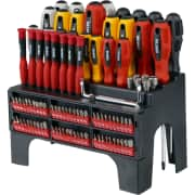 Ironton 100-Piece Screwdriver Set w/ Rack. That's a great price for a kit of this size, and $7 less than you'd pay for an almost-identical set elsewhere.