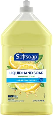 Softsoap 32-Fl Oz. Liquid Hand Soap Refill. Clip the on-page coupon and checkout via Subscribe & Save to drop it to $3.18. That's a savings of $4 off list.