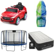 Outdoor Enthusiast Gifts at Home Depot. Save on air mattresses, ride-on cars, sleds, swing sets, and more.