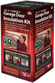 Reach Barrier Garage Door Insulation Kit. That's a $13 low.