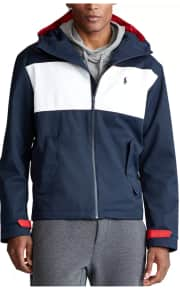 Polo Ralph Lauren Men's Hooded Color-Block Jacket for $56 in cart + free shipping