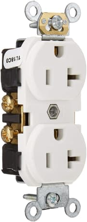 Leviton 20A Duplex Outlet Receptacle. That's the lowest shipped price we could find by $11.