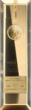 Gold Bar Whiskey Gold Finished 750ml Bottle. That's a savings of $334 off the list price.