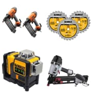 Cordless Combo Kits, Power Tools, and Hand tools at Home Depot. Save on nailers, air compressors, reciprocating saws, blades, and more.