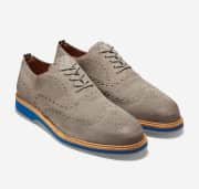 Cole Haan Men's Morris Wingtip Oxfords. That's the best price in any color by at least $15. (However, most stores charge $80 or more.)