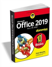 """Office 2019 All-in-One For Dummies"" eBook. You'd pay $24 for the Kindle version."