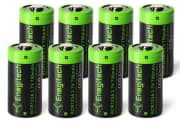 Enegitech 3.7V Rechargeable Batteries 8-Pack. Save 51% off the list price.