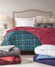 Martha Stewart Reversible Down Alternative Comforter. Save up to $110 off list for these comforters.