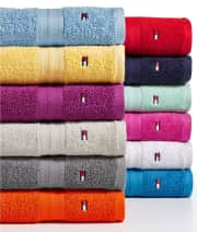 Tommy Hilfiger All American II Cotton Mix and Match Bath Towel Collection from $2 + pickup