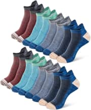 "Newdora Men's Ankle Socks 8-Pack. Use coupon code ""9QDAHRZ4"" for half off (a $9 savings)."