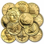 U.S. Mint $5 Commemorative Gold Coin. That's the best price we could find by $5.
